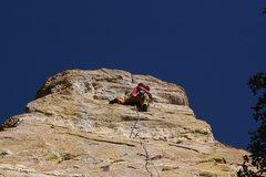 Rock Climbing Photo: Nice moves at the top