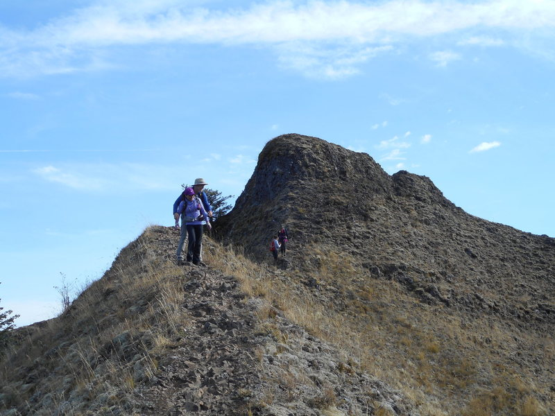 Rock Climbing Photo: Munra Point.
