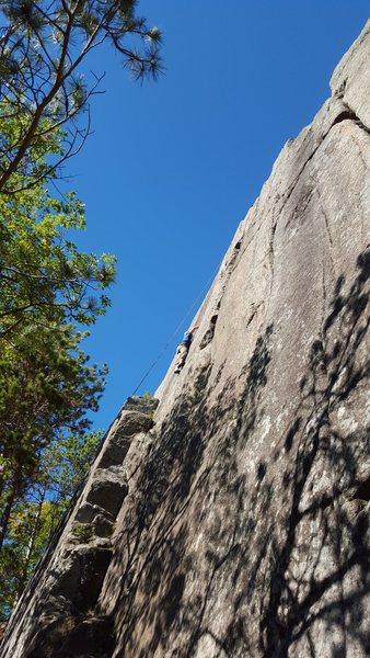 Rock Climbing Photo: Owls Head