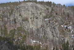 Rock Climbing Photo: Hurricane Crag.