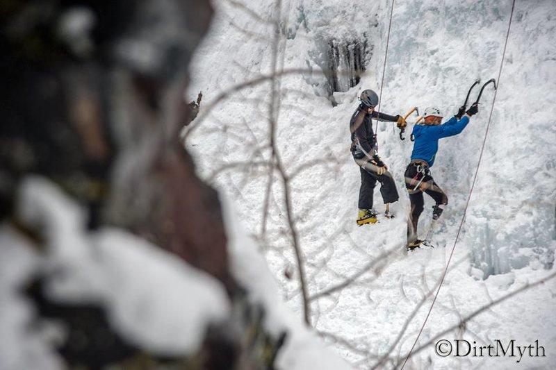Rock Climbing Photo: Stump talk