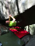 Rock Climbing Photo: Definitely a bit lowball during the beginning sect...