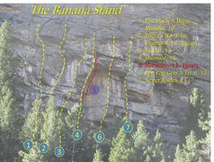 Rock Climbing Photo: Banana Stand Mini Guide Page 4
