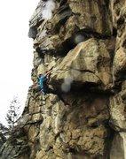 Rock Climbing Photo: Ta Da!