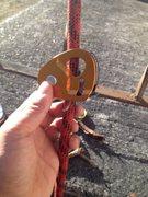 Rock Climbing Photo: this wont lock