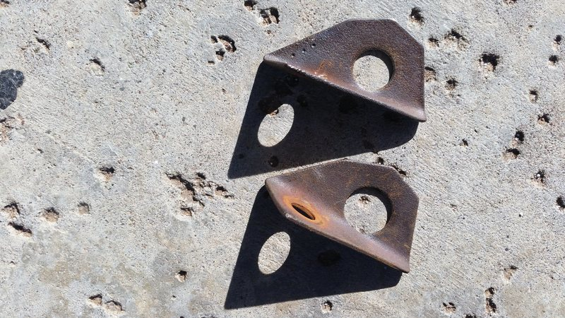 Rock Climbing Photo: Leeper hangers from Triebers Deception
