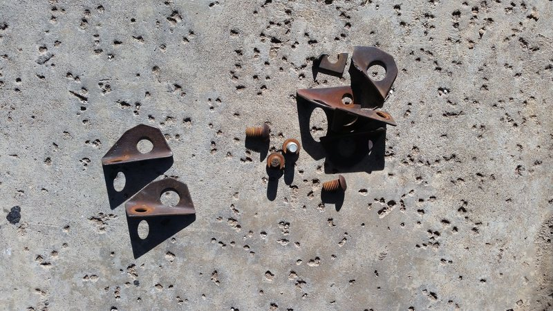 Rock Climbing Photo: All Leeper bolts with self drives.