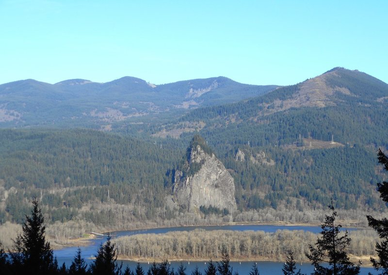 Rock Climbing Photo: Beacon Rock.