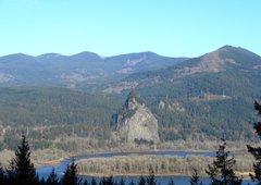 Rock Climbing Photo: Beacon Rock.