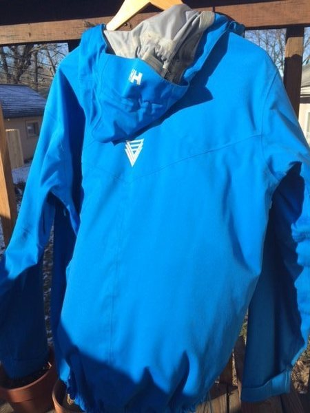 Helly Hansen Odin Superstretch blue back