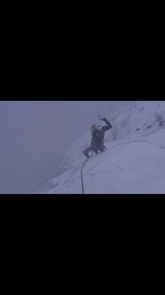 Rock Climbing Photo: WI4 pitch, Hemsedal, Norway
