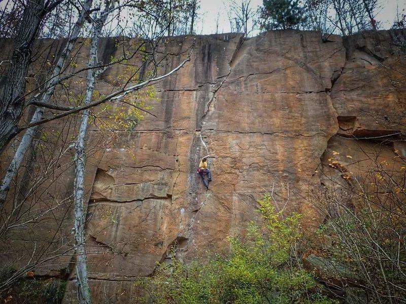Rock Climbing Photo: Sigma-Sandstone, MN