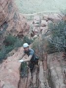 Rock Climbing Photo: Red Rocks descent