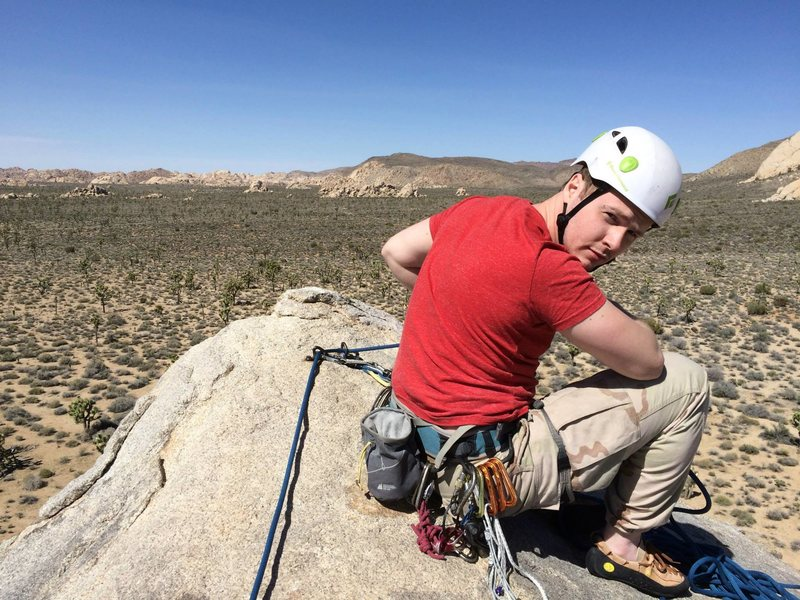 Rock Climbing Photo: Headstone Rock Joshua Tree