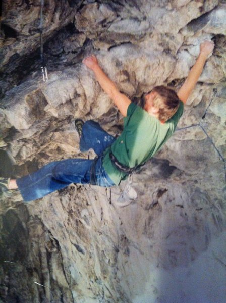 Rock Climbing Photo: Mike Reeves Caveman
