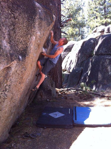 Rock Climbing Photo: Golf course boulders