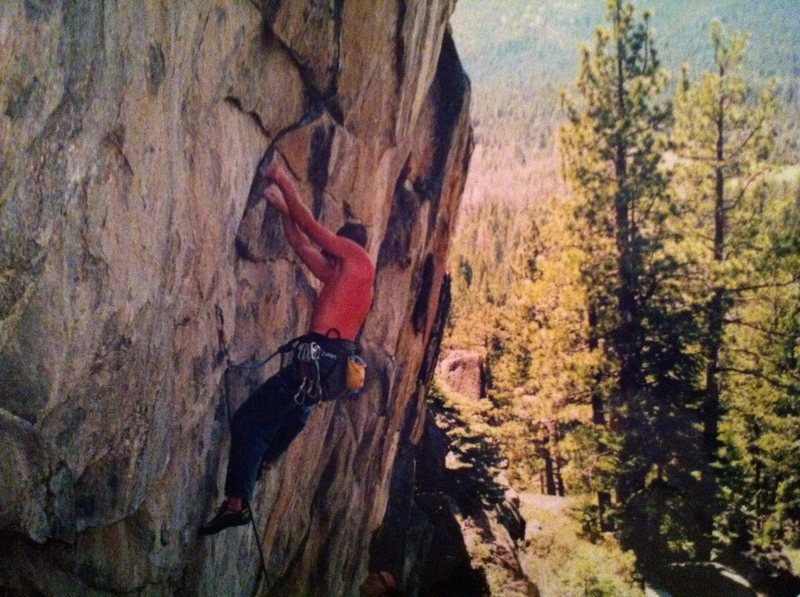 Rock Climbing Photo: Mike Reeves