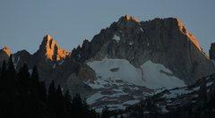 Rock Climbing Photo: Matterhorn Peak in sunset light