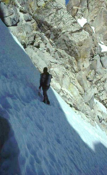 Couloir approach to Matterhorn Peak