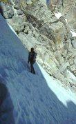 Rock Climbing Photo: Couloir approach to Matterhorn Peak