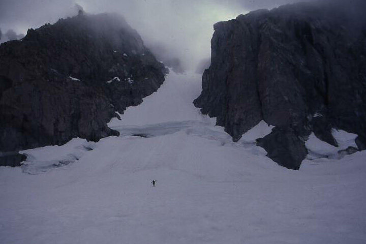 U-Notch Couloir
