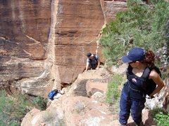 Rock Climbing Photo: Enroute.