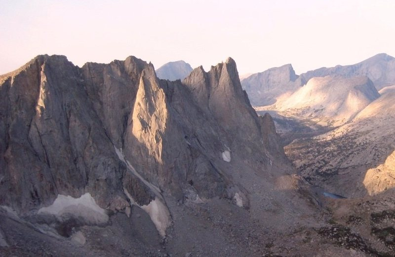 Wyoming's Wind River Range