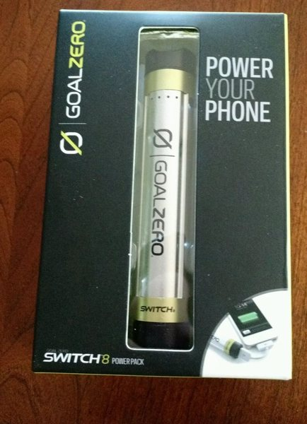 Goal Zero Switch 8 rechargeable battery