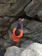 Rock Climbing Photo: The sloper