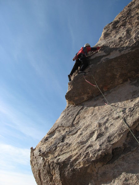 Rock Climbing Photo: Headstone