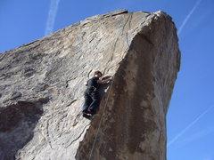 Rock Climbing Photo: Sascha on Cryptic