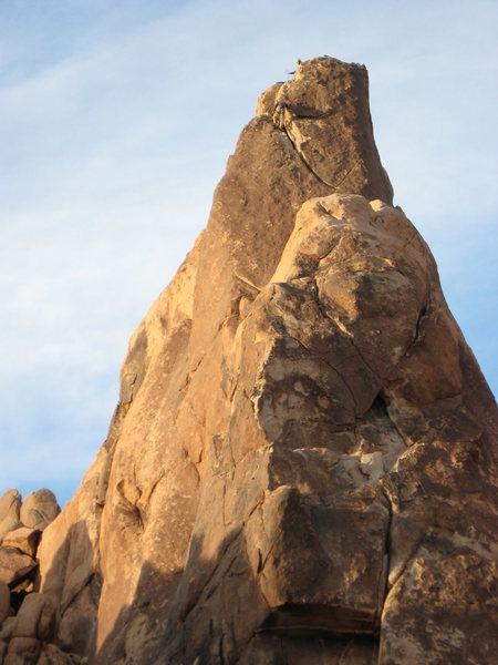 Climbers on Moosedog Tower
