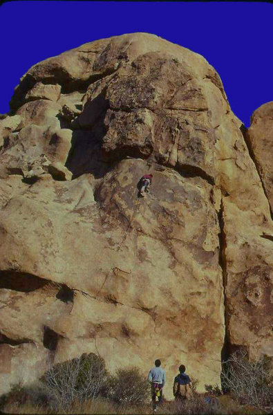 Rock Climbing Photo: Photo taken ca 1982. Thanks for the info C Miller....