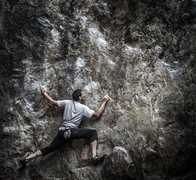 Rock Climbing Photo: Photo I shot of another climber at indian rock par...