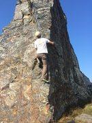 Rock Climbing Photo: Goat rock state beach, CA