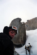 Rock Climbing Photo: Getting nowhere slow on Denali. Remember tools wit...