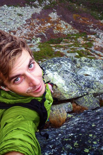Rock Climbing Photo: Big personal goal, solo'ing Pinnacle Ridge in NH. ...