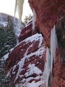 Rock Climbing Photo: Lance Torre climbing Jesus Camp.