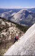 Rock Climbing Photo:  West Face, Starr King Car to car ~ 14 hours Photo...