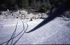 Rock Climbing Photo: Eric Collins on Glacier Point Apron