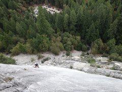 Rock Climbing Photo: Cold Fusion, Glacier Point Apron