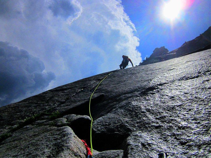 Eric Collins, Goodrich Pinnacle, Glacier Point Apron