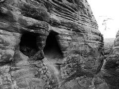 Rock Climbing Photo: handlebars