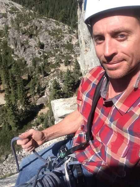 Shameless selfie on Bear's Reach