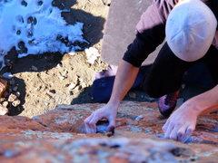"Rock Climbing Photo: ""Little Crack"" @ Carter Lake"