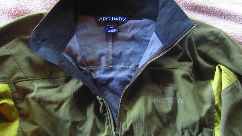 Rock Climbing Photo: Arc'teryx Windstopper