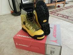 Rock Climbing Photo: Arctis Expe boots on box