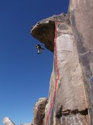 Rock Climbing Photo: Climb the super obvious arête just to the right o...