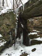 Rock Climbing Photo: Cox Hollow Right