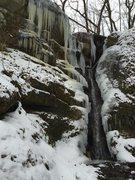 Rock Climbing Photo: Cox Hollow Left